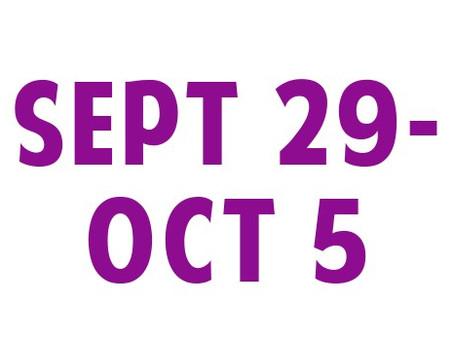 WEE News: Sept 29-Oct 5