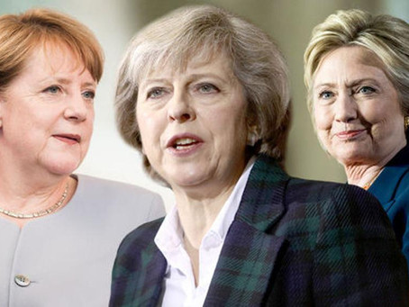 Clinton, May, Merkel Might Run The World – But Will It Help Your Career?