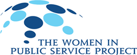 "The Women in Public Service Project (WPSP) is a program of the Global Women's Leadership Initiative at the Wilson Center which empowers the next generation of women around the world and mobilizes them on issues of critical importance in public service. The WPSP is committed to a new global partnership aimed at reaching a minimum of 50 percent of all decision-making positions in public service held by women by 2050 (""50 × 50"")"