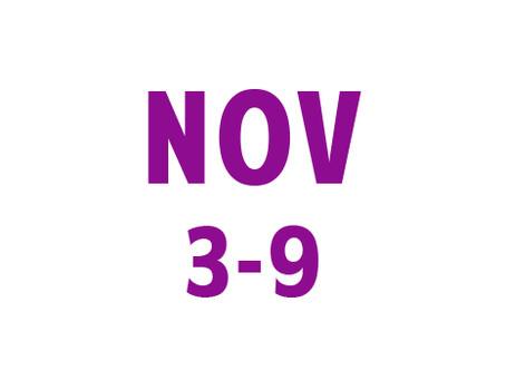 WEE News: November 3-9