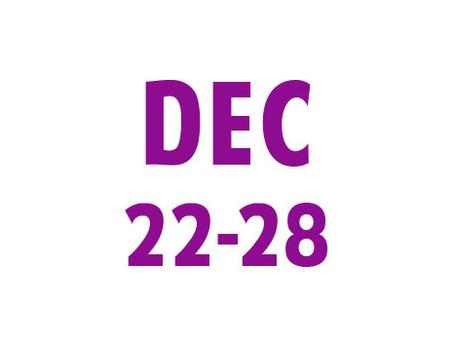 WEE News: December 22-28