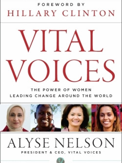 Book Review:  Vital Voices by Alyse Nelson