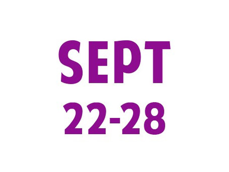 WEE News: Sept 22-28