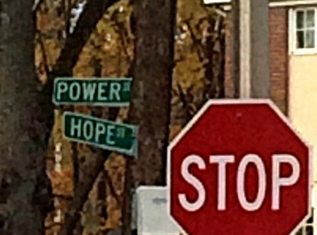 At the Corner of Hope and Power