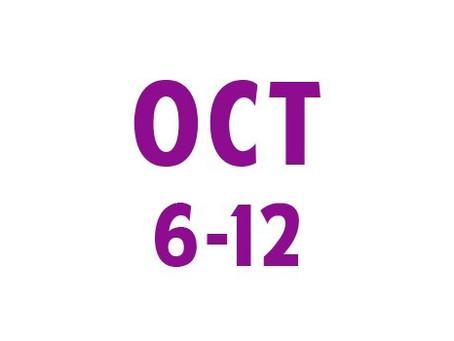 WEE News: October 6-12