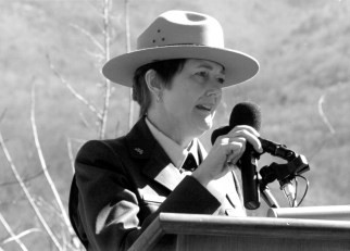 Karen Wade, the first woman superintendent of the Smokies, who took the helm in 1994 and expanded the park's economic prospects and community outreach