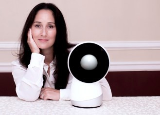 """This little bot of mine"" is the slogan for Jibo, a ""family robot"" developed by Cynthea Breazeal and her team at MIT."