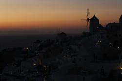Windmill, Sunset