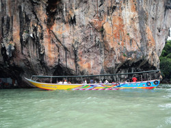 Boat in Phang Nga Bay