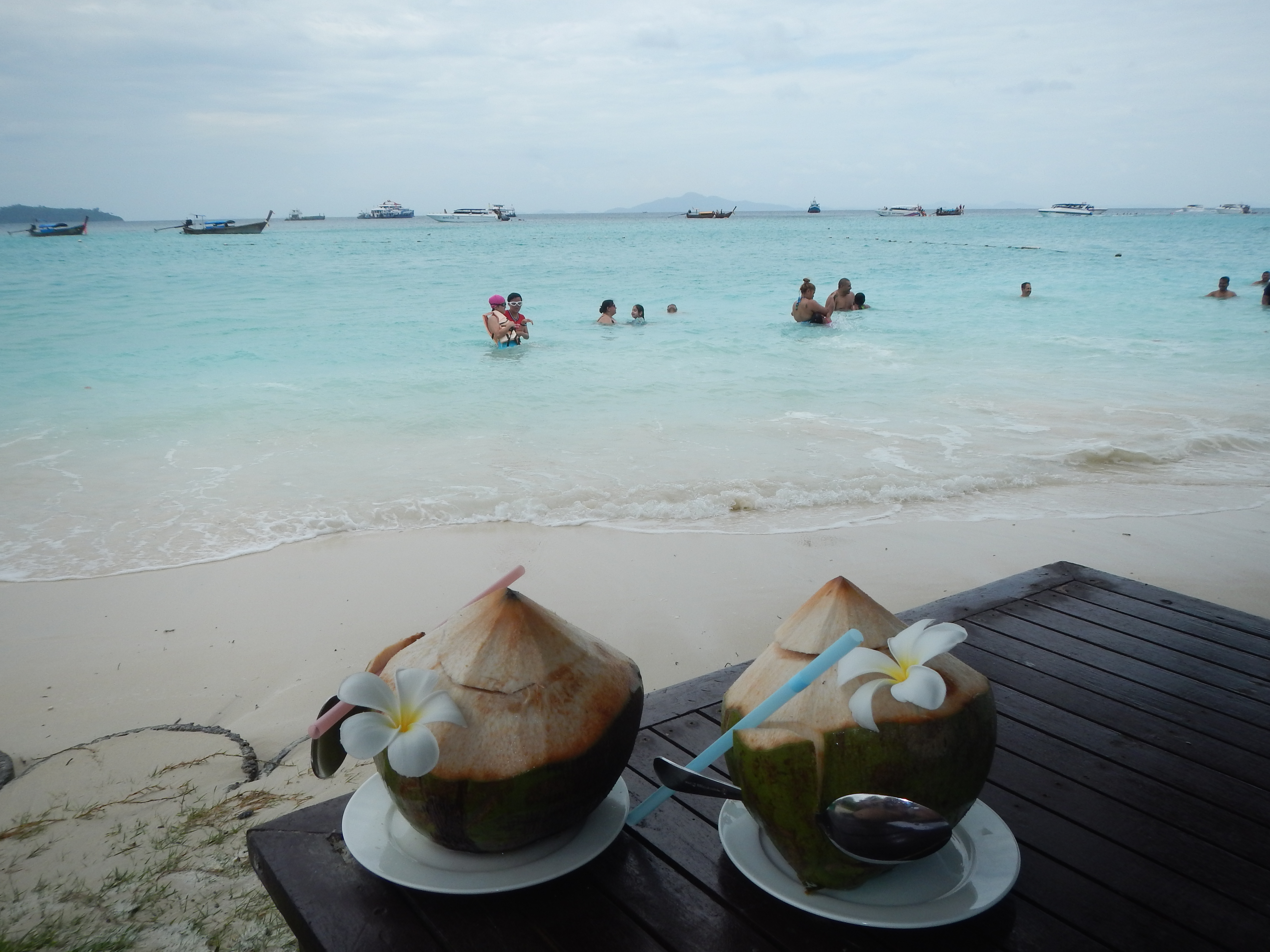 Refreshing Coconuts