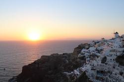 World famous Oia Sunset