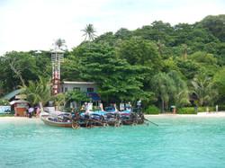 Beach in Phi Phi Don