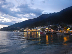 Queenstown in Evening