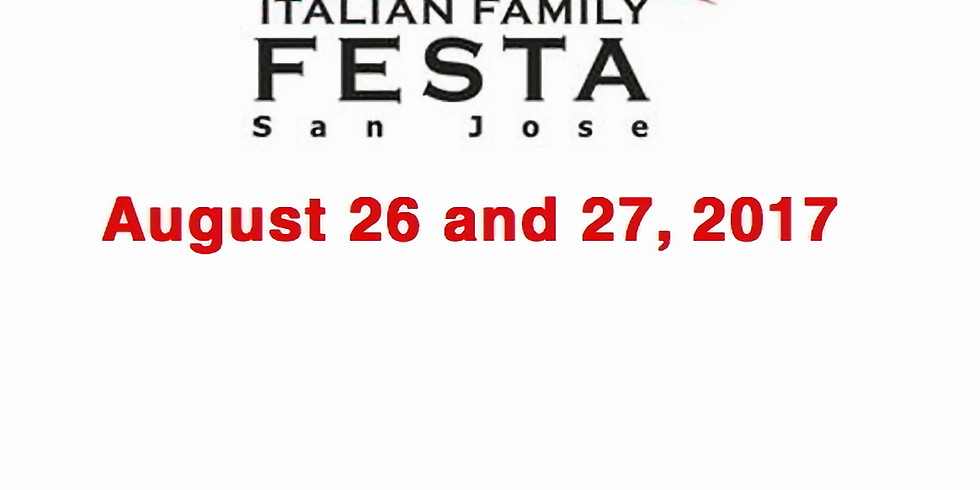 Book signing at Italian Family Festa