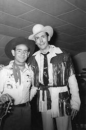 Shorty Joe and Hank Williams at Tracy Garden, San Jose, CA 1952