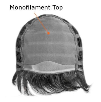 monofilament top wig cap