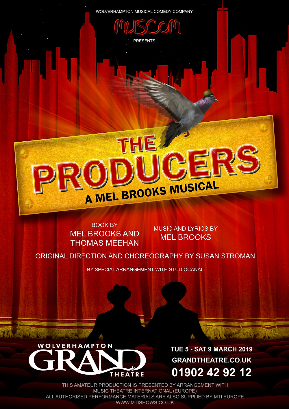 The Producers - Grand Theatre Wolverhampton - Muscom