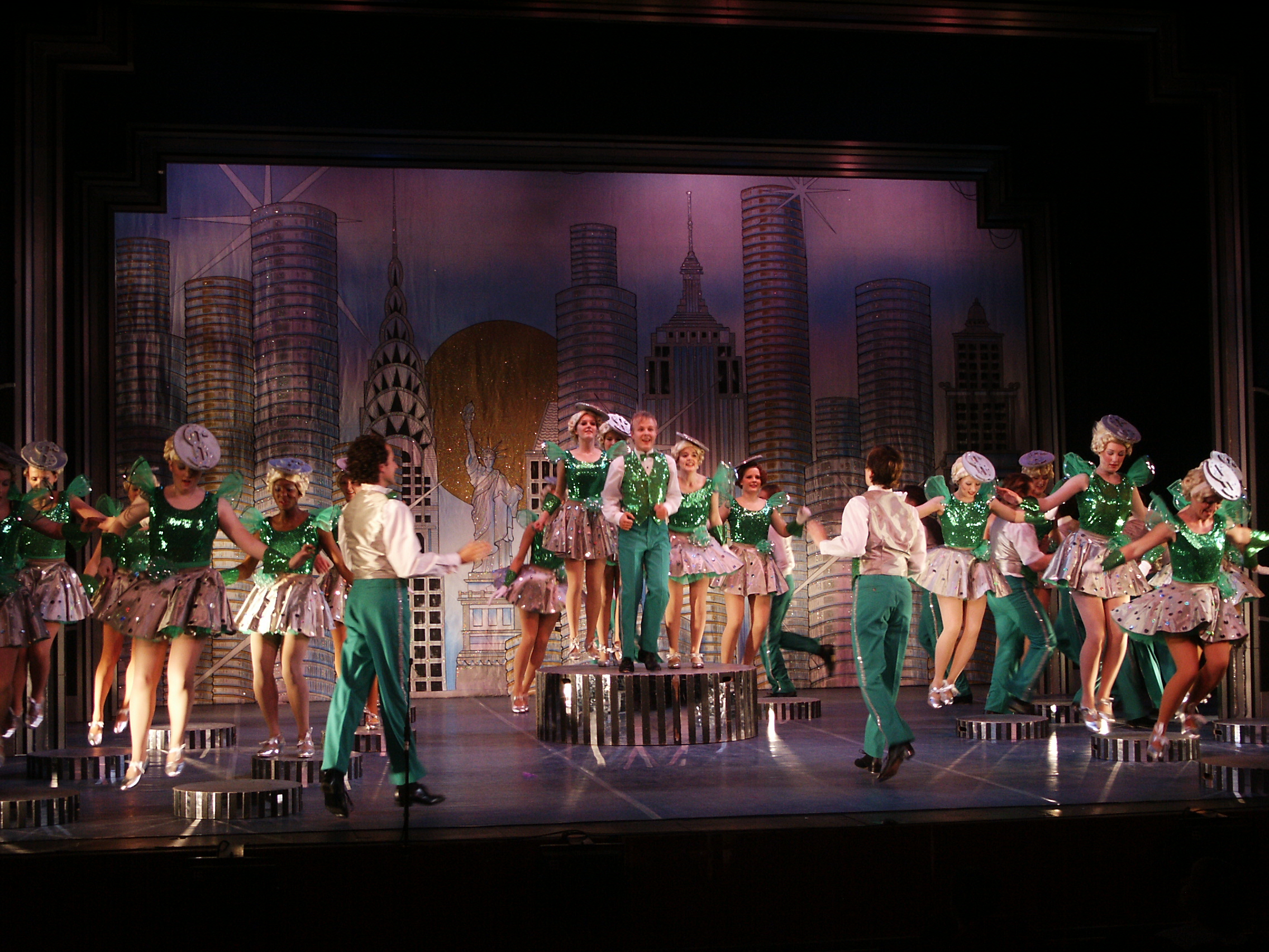42ND STREET - PREVIOUS PRODUCTIONS