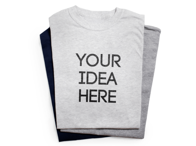 Create Your Own Custom Shirt (Two Colors)