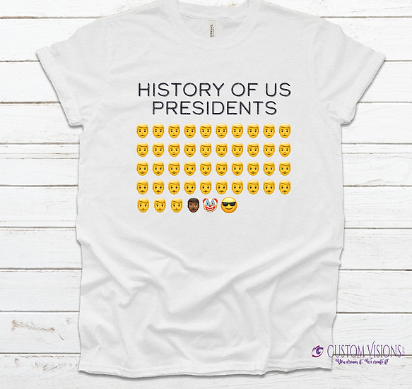 History of US Presidents Tee