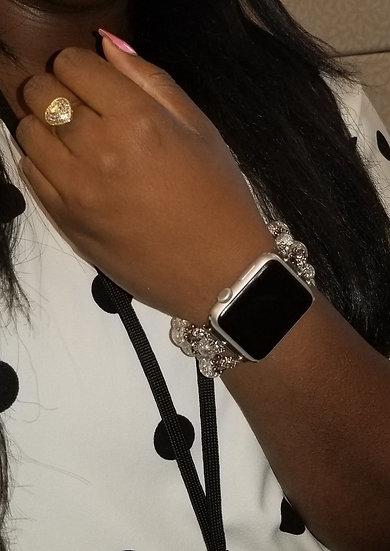 """""""Clear Ice"""" Smart Watch Bracelet"""