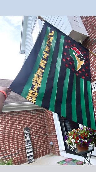 Black Lives Matter / Juneteenth Flags