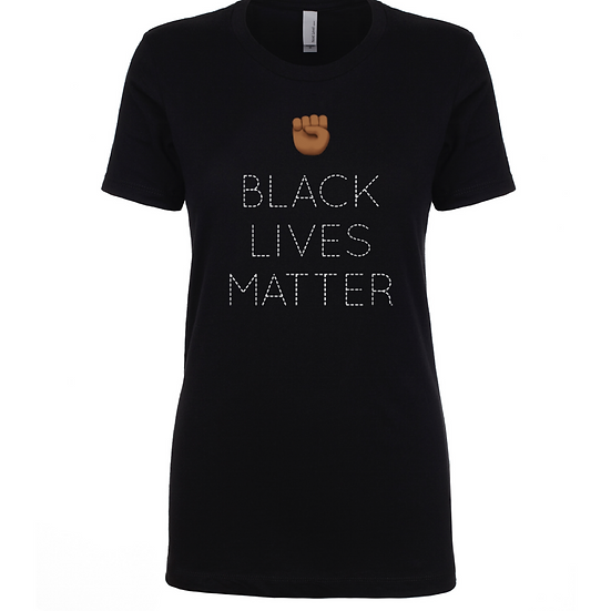 BLM Dotted Fist Tee
