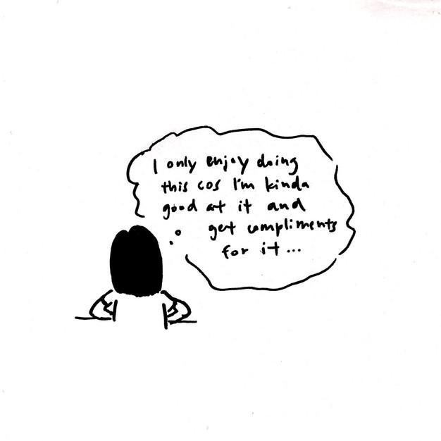 it's always self doubt hour somewhere