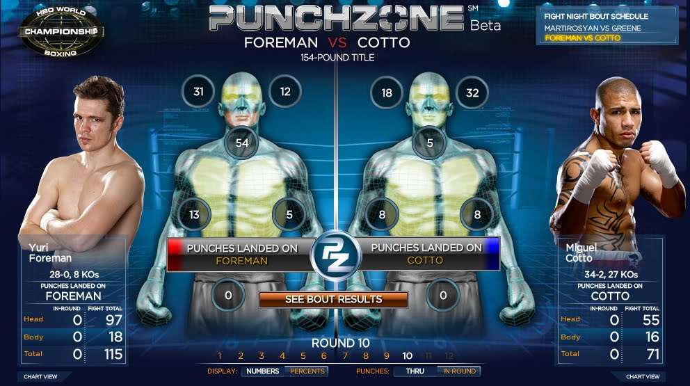 HBO Boxing Punchzone