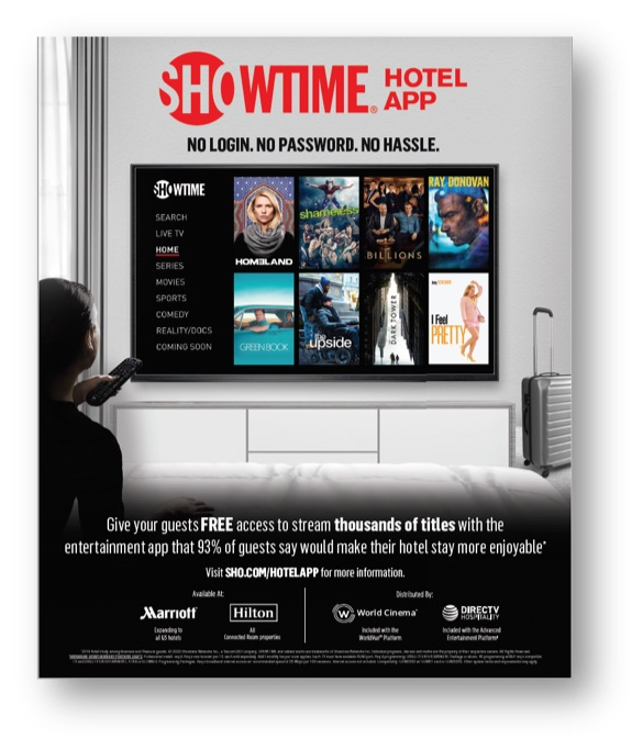 2020 SHO HOTEL APP Print Ad