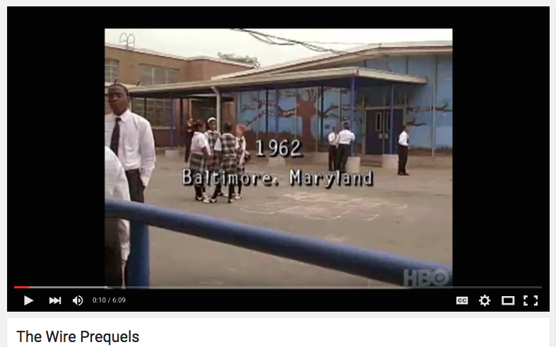 HBO The Wire Prequels