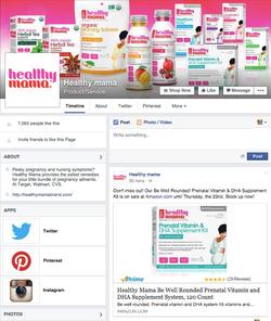 Healthy Mama Facebook Page