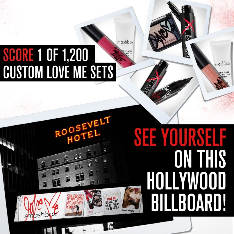 Smashbox Love Me Facebook Campaign