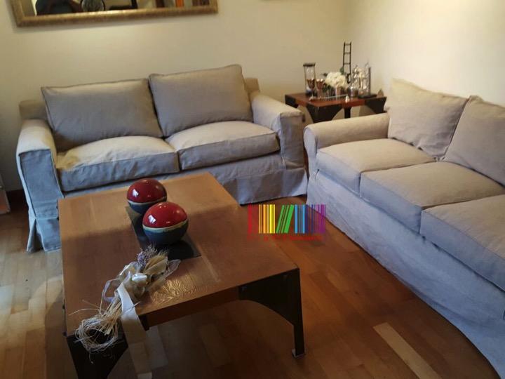 funda sillón lino