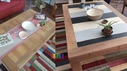mesa de centro antes y después