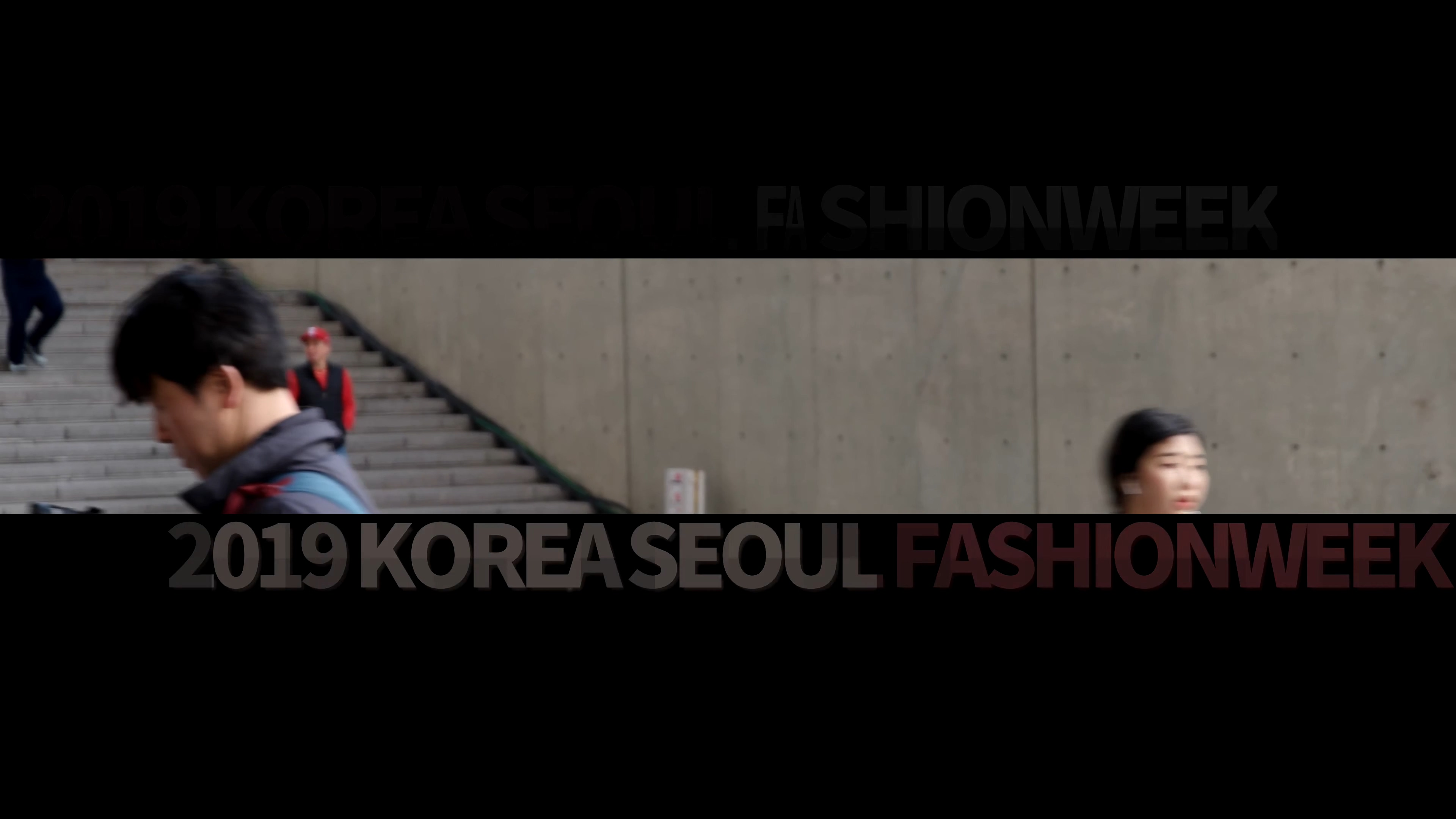 2019 Seoul Fashion Week Video