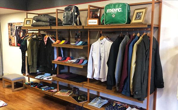 Moda y ropa hombre y mujer. Camisas, abrigos, chaquetas, harrington, vestidos, Merc, Fred Perry, Ben Sherman.