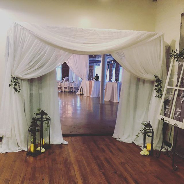 Grand Entryway Draping