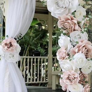 Paper Flower Arch RENTAL