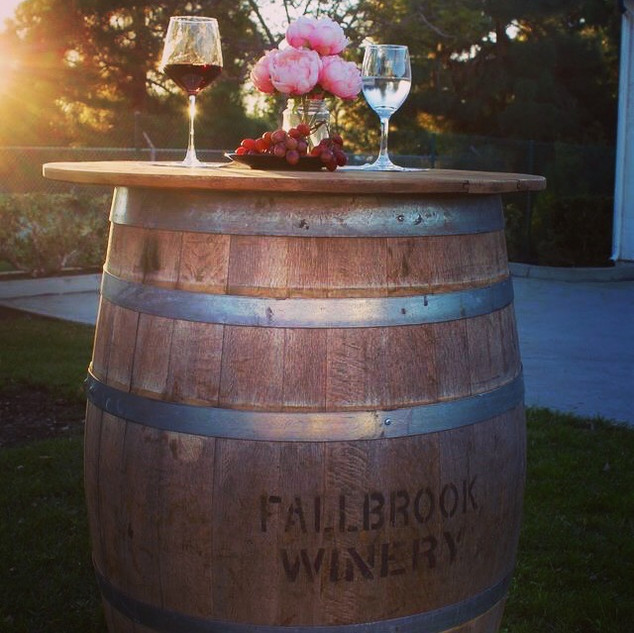 Wine Barrell Rental