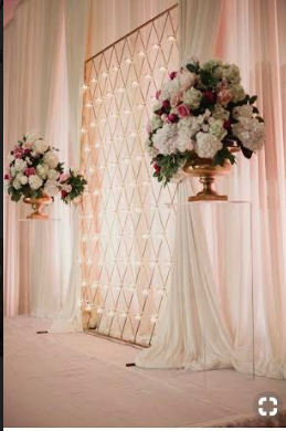 Candle Wall Backdrop