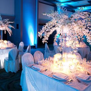 crystal tree & uplight rentals