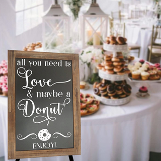 All You Need Is Love and a Doughnut Disp