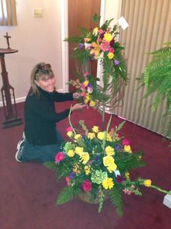 Basket & Wreath