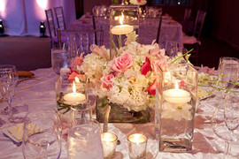 Gurneys Newport Wedding Centerpieces