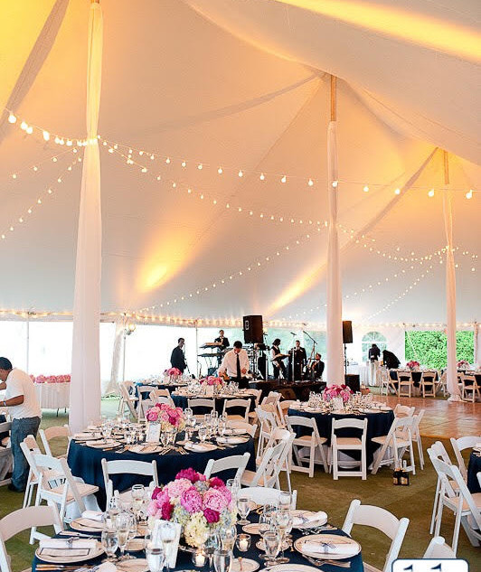 Tent String Lighting Rental