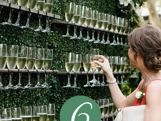 7 Ways to Use a Champagne Wall at Your Wedding