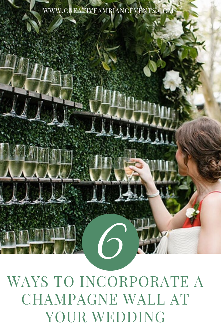 Champagne Wall Pinterest