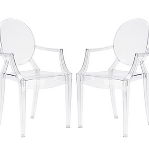 Clear Ghost Chairs RENTAL
