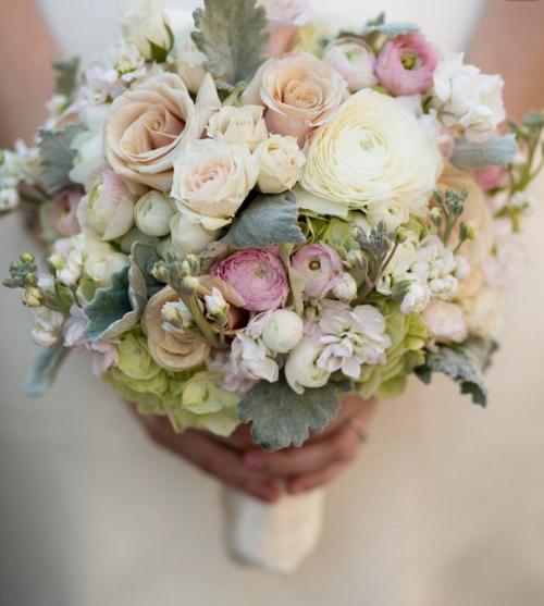 Lavendar and Blush Bridal Bouquet